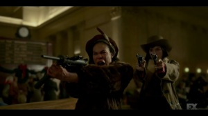 The Nadir- Zelmare and Swanee open fire at the train station- Fargo, FX