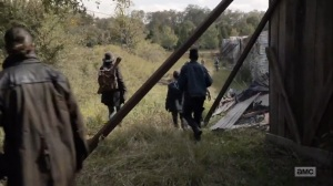 Home, Sweet Home- Alexandria Safe Zone in ruin- AMC, The Walking Dead