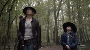 Home, Sweet Home- Maggie and Judith talk, AMC, The Walking Dead
