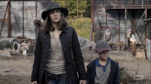 Home, Sweet Home- Maggie returns to Alexandria- AMC, The Walking Dead