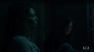 Home, Sweet Home- Maggie tells Daryl about her time away- AMC, The Walking Dead