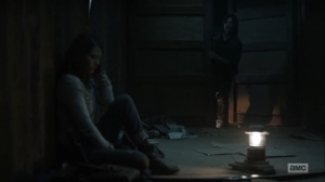 Home, Sweet Home- Maggie warns Daryl that nothing should follow them back to Alexandria- AMC, The Walking Dead