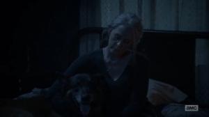 Diverged- Carol asks Dog if she should leave for good- AMC, The Walking Dead