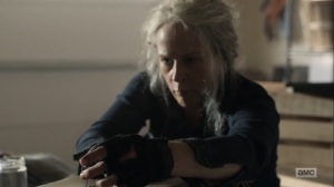 Diverged- Carol makes a rat trap- AMC, The Walking Dead