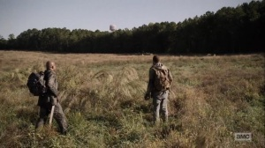 One More- Aaron and Gabriel spot the water tower- AMC, The Walking Dead