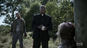 One More- Gabriel sets a timer- AMC, The Walking Dead