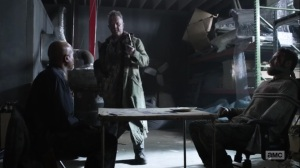 One More- Mays invites Gabriel and Aaron to a game of Russian Roulette- AMC, The Walking Dead