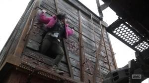 Splinter- Princess escapes the boxcar- AMC, The Walking Dead