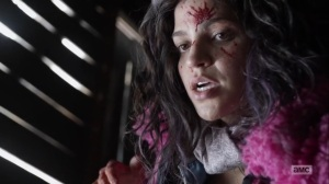 Splinter- Princess realizes she is the one who attacked the Commonwealth soldier- AMC, The Walking Dead