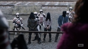 Splinter- Princess sees Ezekiel, Yumiko, and Eugene- AMC, The Walking Dead