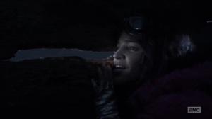 Splinter- Princess talks to Yumiko- AMC, The Walking Dead