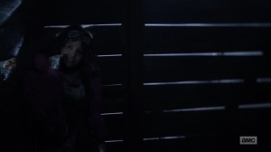 Splinter- Princess tells Yumiko about the time her stepfather smacked her- AMC, The Walking Dead