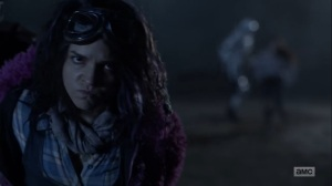 Splinter- Yumiko tries to rescue Princess- AMC, The Walking Dead