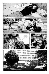 Here's Negan- Comic panel