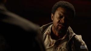 Here's Negan- Franklin is interrogated- AMC, The Walking Dead