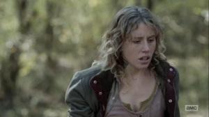 Here's Negan- Laura knocks out Negan- AMC, The Walking Dead