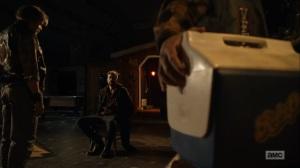 Here's Negan- Negan held as captive- AMC, The Walking Dead