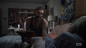 Here's Negan- Negan reads Pride and Prejudice- AMC, The Walking Dead