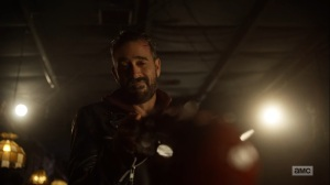 Here's Negan- Negan realizes that now, he's capable of anything- AMC, The Walking Dead