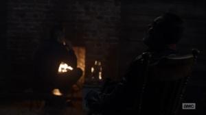 Here's Negan- Negan sees a vision of himself- AMC, The Walking Dead