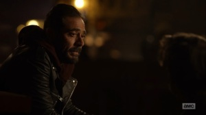 Here's Negan- Negan talks about seeing red- AMC, The Walking Dead