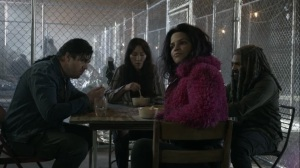 Acheron Part I- Eugene, Princess, Yumiko, and Ezekiel talk about escaping the Commonwealth- AMC, The Walking Dead
