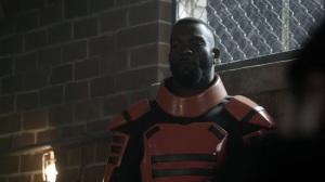 Acheron Part I- Guard in orange armor- AMC, The Walking Dead