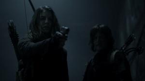Acheron Part I- Maggie dares Negan to keep pushing her- AMC, The Walking Dead