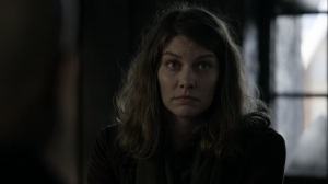 Acheron Part I- Maggie suggests going to Meridian to find more food- AMC, The Walking Dead