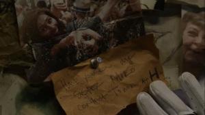 Acheron Part I- Photo of Yumiko on the Commonwealth wall- AMC, The Walking Dead