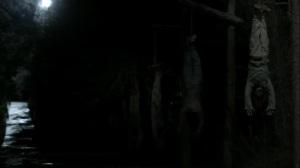 Acheron Part II- Bodies hung upside down- AMC, The Walking Dead