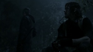 Acheron Part II- Daryl tells Maggie about the note he found- AMC, The Walking Dead