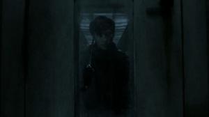 Acheron Part II- Gage stabs himself as walkers arrive- AMC, The Walking Dead