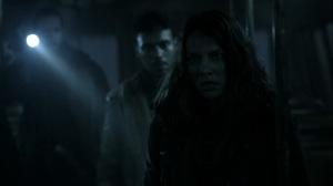 Acheron Part II- Maggie enters the train- AMC, The Walking Dead