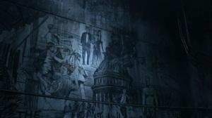 Acheron Part II- Mural on the wall- AMC, The Walking Dead