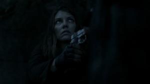 Acheron Part II- Negan returns Maggie's gun- AMC, The Walking Dead