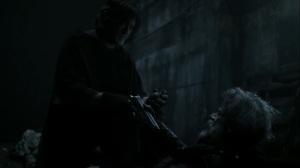 Acheron Part II- Roy gives Daryl a gun and grenade- AMC, The Walking Dead