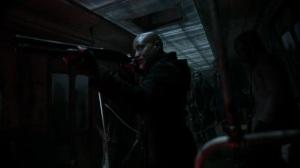 Acheron Part II- Walkers break into the train car- AMC, The Walking Dead