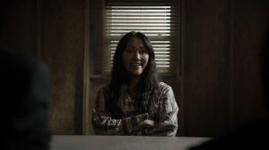 Acheron Part II- Yumiko talks with Evans and Clark about Commonwealth's laws- AMC, The Walking Dead