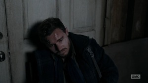 Hunted- Alden left at the church- AMC, The Walking Dead