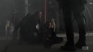 Hunted- Maggie and Negan find Alden- AMC, The Walking Dead