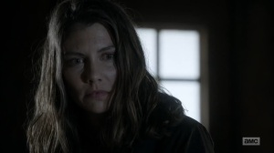 Hunted- Maggie blames Negan for everything- AMC, The Walking Dead