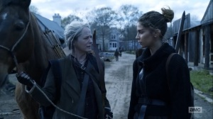 Hunted- Magna wants Carol to stop giving Kelly hope about Connie- AMC, The Walking Dead
