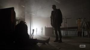 Hunted- Negan discusses the Reaper's theatrics- AMC, The Walking Dead