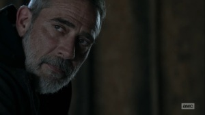 Hunted- Negan tells Maggie that she still has to decide- AMC, The Walking Dead