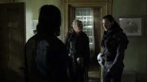 On the Inside- Carver is suspicious of Daryl's loyalty- AMC, The Walking Dead