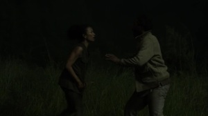 On the Inside- Connie and Virgil on the run- AMC, The Walking Dead