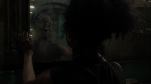 On the Inside- Connie explores the mansion bathroom- AMC, The Walking Dead