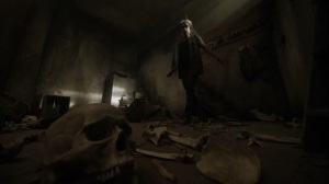 On the Inside- Connie in the mansion basement- AMC, The Walking Dead