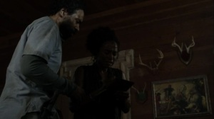 On the Inside- Connie informs Virgil that they are not alone- AMC, The Walking Dead